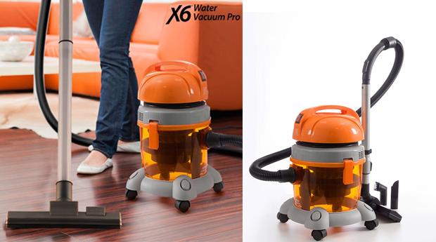 Aspirador a Água Profissional X6 Vacuum Pro!