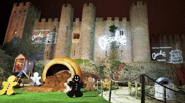 Festival do Chocolate em Óbidos -  1 Noite com Meia Pensão e Entradas no Festival no Caldas Internacional Hotel 3*!