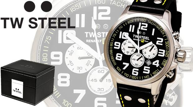 Relógio Masculino TW Steel Edição Especial Renault F1 Team! (Portes Incluídos)
