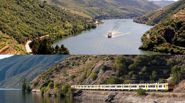 Dia no Douro com Subida de Barco e Descida de Comboio! Do Porto ao Pinhão com Pequeno-Almoço e Almoço a Bordo!