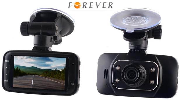Câmara Fotográfica e Vídeo para Automóvel Forever VR-300!