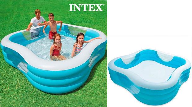 Piscina insufl vel familiar intex for Alberca familiar intex