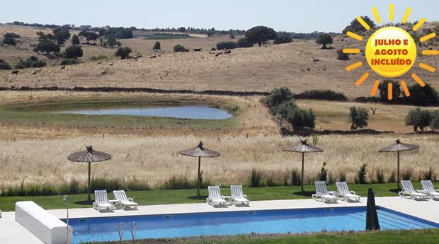 Verão no Alentejo! 1, 2, 3, 5 ou 7 Noites em Hotel Rural com Meia Pensão!