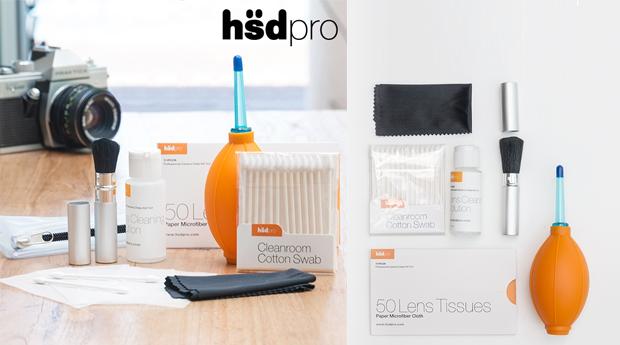 Kit de Limpeza para Câmaras Fotográficas com 7 Peças, HSDPRO!