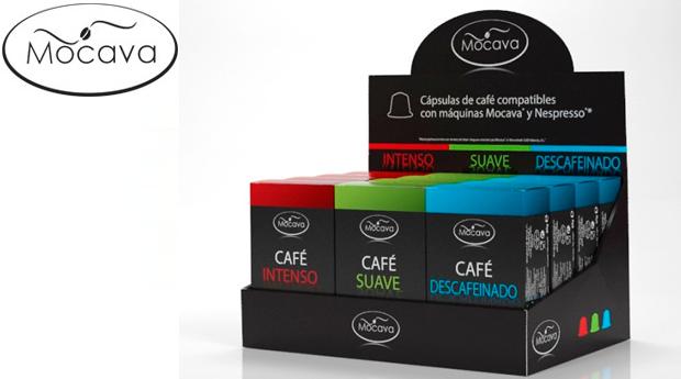 120 Cápsulas de Café Mocava com 3 Sabores: Intenso, Suave e Descafeinado! Compatíveis com Máquinas Nespresso!