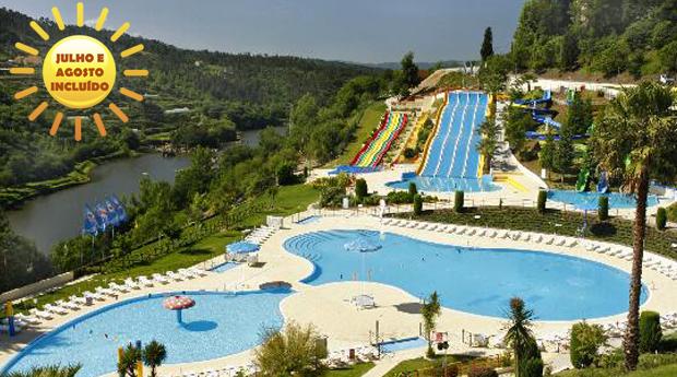 Parque Aquático de Amarante -  1, 2 ou 3 Noites no Hotel Navarras 3* com Entradas Diárias no Parque!Julho e Agosto Incluídos!