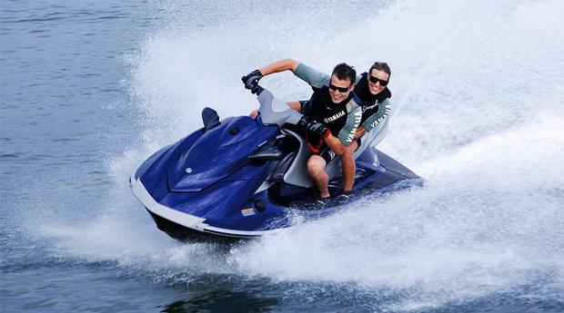 Experiência Radical Terra Água! Passeio de Moto 4 e Mota de Água para 2 Pessoas na Barragem de Montargil!