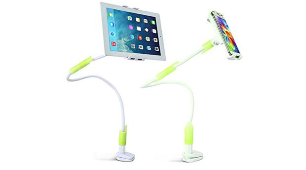 Suporte Gooseneck para Tablet Ajustável com Fixação Universal!
