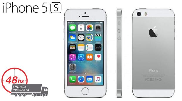 iPhone 5S Recondicionado A+++ Desbloqueado com Memória 16 GB e Acessórios!