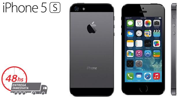 iPhone 5S Recondicionado A++ Desbloqueado com Memória 32 GB e Acessórios!