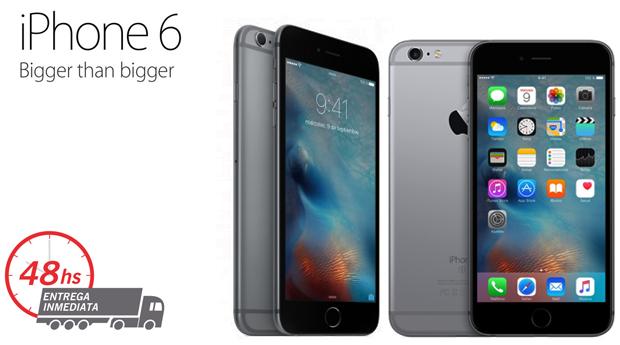 iPhone 6  Space Gray Recondicionado A Desbloqueado com Memória 128GB e Acessórios!
