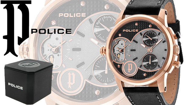 Relógio Police® Diamonback! (Portes Incluídos)