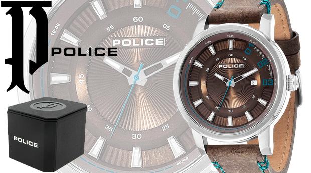 Relógio Police® Sunset Brown! (Portes Incluídos)