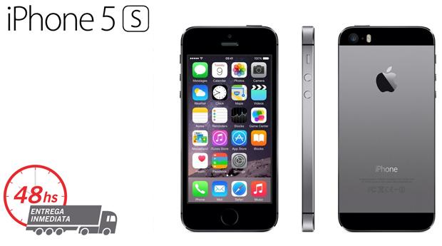 iPhone 5S Grey ou Gold Recondicionado A Desbloqueado com Memória 16GB e Acessórios!
