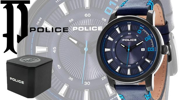 Relógio Police® Sunset Dark Blue! (Portes Incluídos)