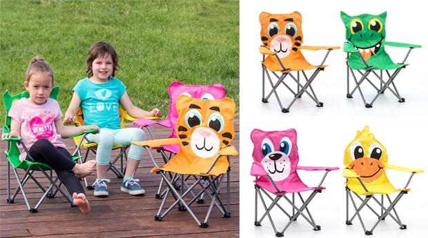 Cadeira de Jardim para Crianças com Animais!