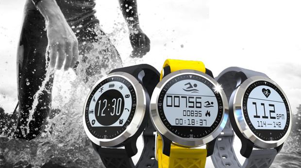 Smartwatch Desportivo F69 Smart! Apropriado a Todos os Desportos, Inclusive Natação!