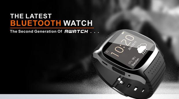 Smartwatch M26 LED com Bluetooth!
