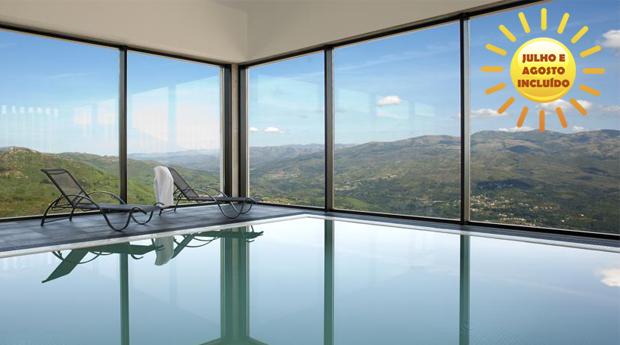 Gerês, Paisagem Idílica em Hotel & Spa 4* -  1, 2 ou 3 Noites com Spa na Casa do Mezio Aromatic & Nature Hotel 4*!
