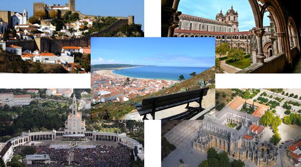 Caminhos da História! Tour de 8 Horas até 7 Pessoas por Óbidos, Alcobaça e Fátima!