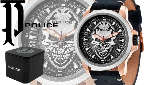 Relógio Masculino Police® Reaper! (Portes Incluídos)