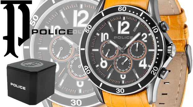 Relógio Police® Theory! (Portes Incluídos)