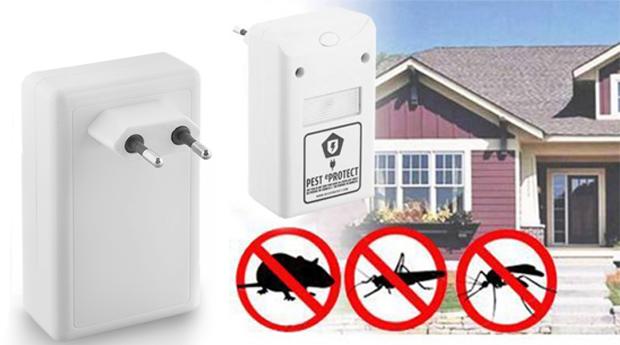 Repelente de Insectos e Roedores Pest Eprotect! Pack com 1, 2, 3 ou 4 Unidades!