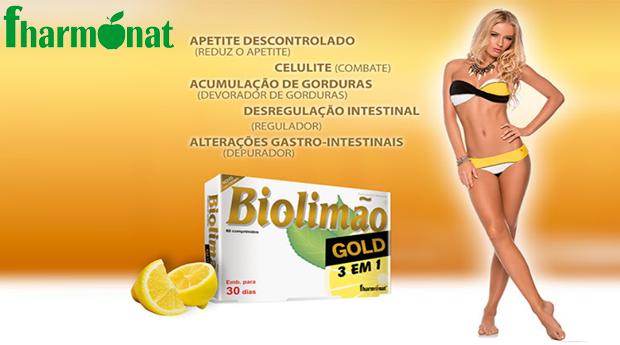 A Solução para o Apetite Descontrolado, Celulite e Gordura Localizada com Biolimão Gold da Fharmonat!