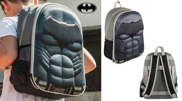 Mochilas Escolares 3D Super-Heróis! Batman; Capitão América; Ironman ou Super Homem!