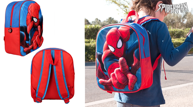 Mochila Escolar 3D Spiderman!