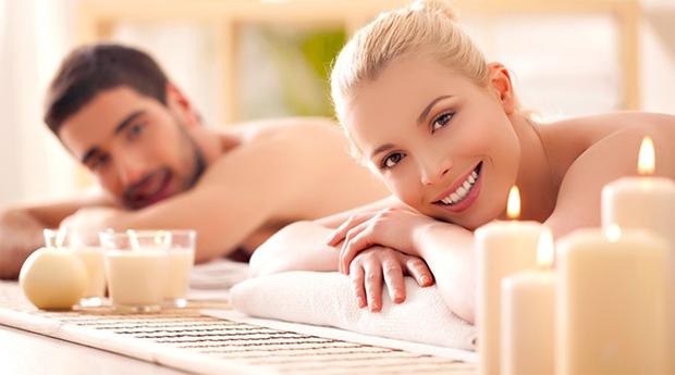Massagem de Relaxamento para Casal com Velas Quentes em Queluz!