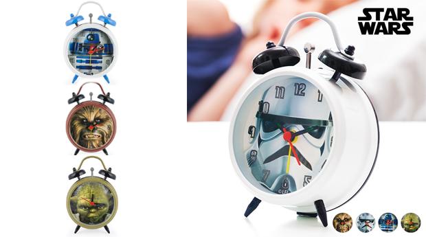 Despertador Star Wars, 4 Modelos à Escolha!