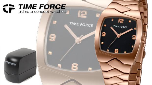 Relógio de Senhora Time Force Rose Gold! (Portes Incluídos)