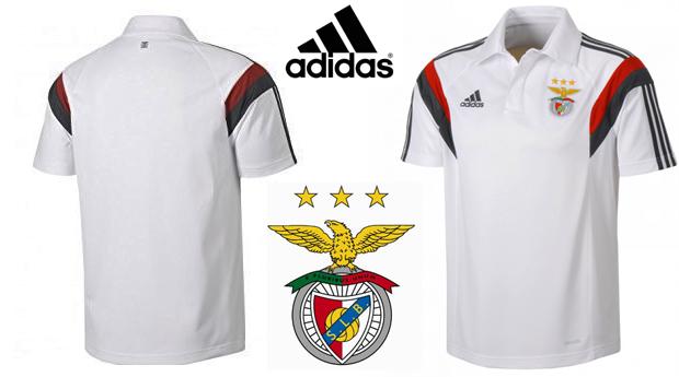 Polo Adidas® Oficial do Benfica! Tecnologia Climalite!