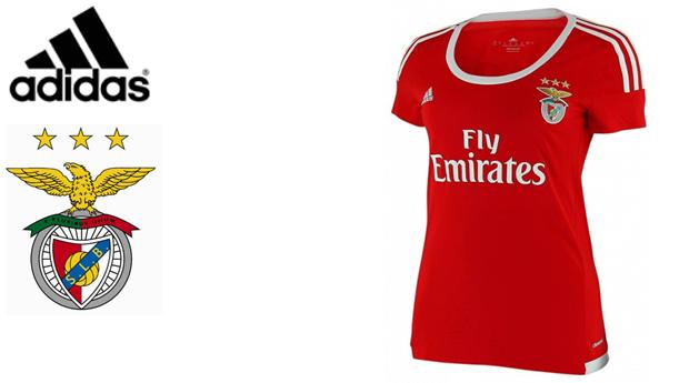 T-Shirt Adidas® Oficial do Benfica! Tecnologia Climacool!