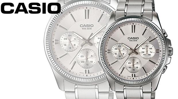 Relógio Casio® MTP-1375D-7A! (Portes Incluídos)