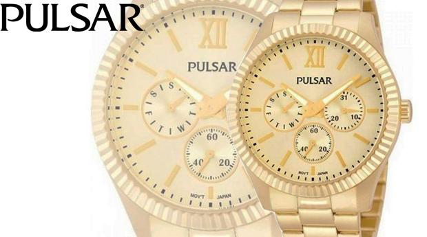 Relógio de Senhora Pulsar Gold! Entregas em 72 Horas!