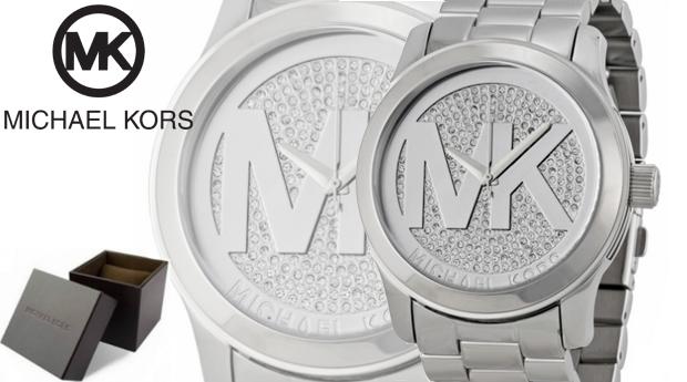Relógio de Senhora Michael Kors® Runway Crystal! Entregas em 48 Horas!