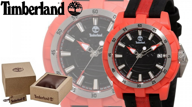 Relógio Timberland® Black&Red! Entregas em 48 Horas!