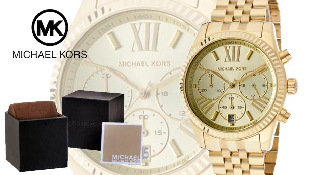 Relógio de Senhora Michael Kors®  Lexington Chronograph! (Portes Incluídos)