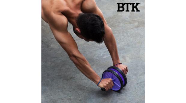 Roda Abdominal de Fitness BTK! Entregas em 72 Horas