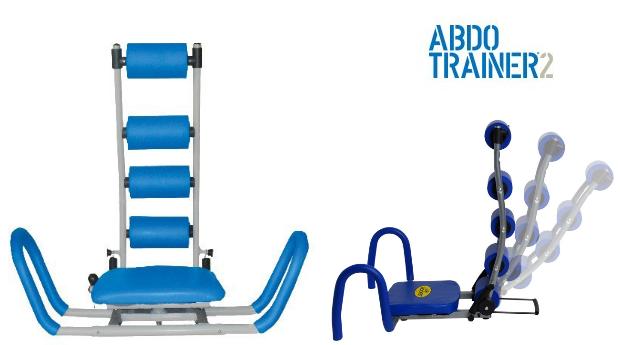 Banco Abdominal ABDO Trainer 2! Entregas em 72 Horas