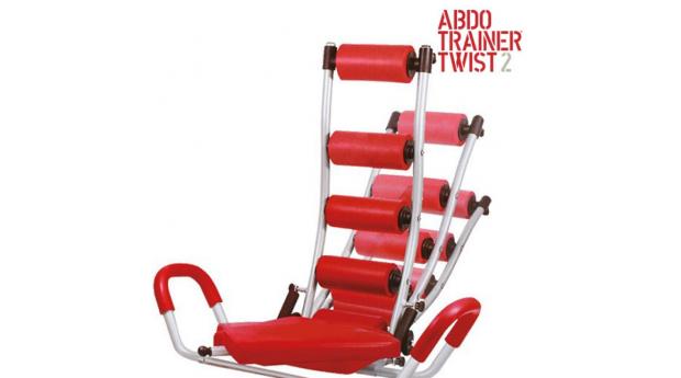 Banco de Abdominais com Expansores de Peito ABDO Trainer Twist!