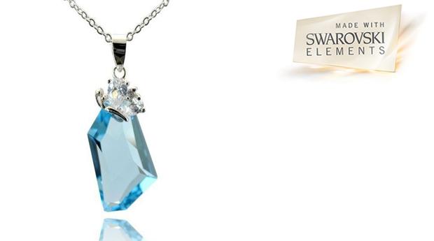Colar  Mystic Aqua com Cristais Swarovski Elements! (Portes Incluídos)