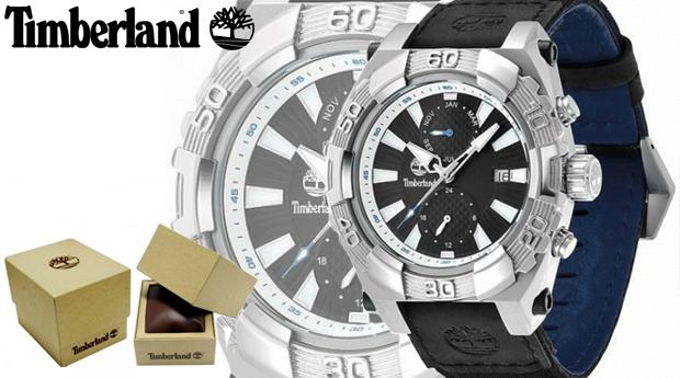 Relógio de Homem Timberland® Hookset Multifunction!
