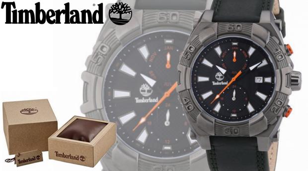 Relógio de Homem Timberland® Hookset Preto!