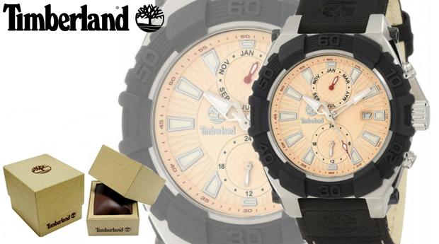 Relógio de Homem Timberland® Chocorua Bege!