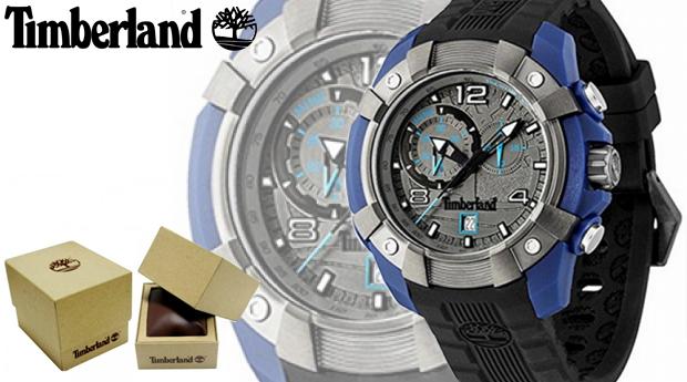 Relógio de Homem Timberland® Wheelright Blue!