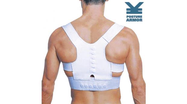 Cinta de apoio para costas Posture Armor! Entregas em 72 Horas