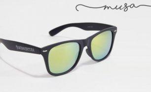 Óculos de Sol Quadrados Stafford Black da Musaventura! Lente Espelhada com Proteção  UV400! 4ad00eda7e